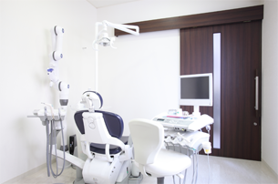 個室形式の診療室